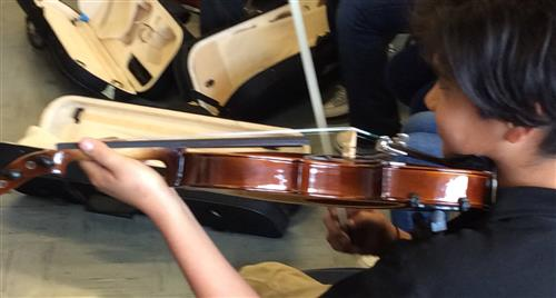 Violin Program at BUSD