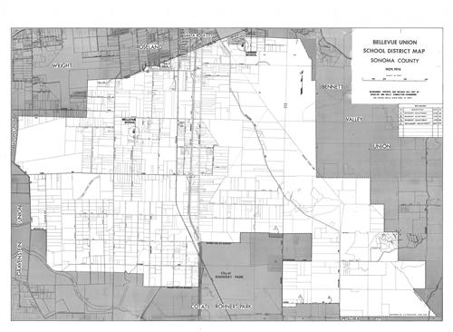 Bellevues School District Boundaries